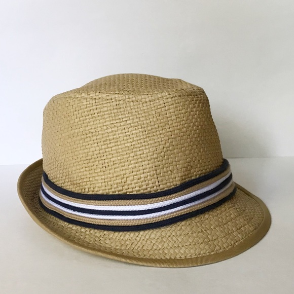 3e163b38dfe6e New Era EK Collection Straw Fedora Hat. M 5b970bc7951996efe8bd00f4